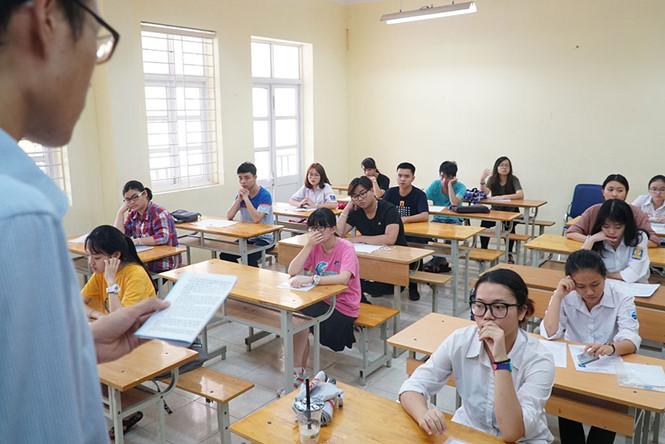 Làm tròn điểm thi THPT Quốc gia 2018 nhiều thí sinh sẽ bị thiệt