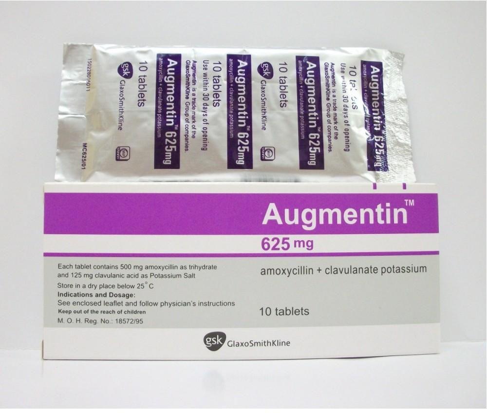 Thuốc kháng sinh Augmentin và những thông tin hữu ích