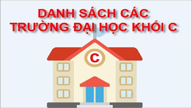 Danh sách các trường tuyển khối C tại TP Hà Nội và TP Hồ Chí Minh