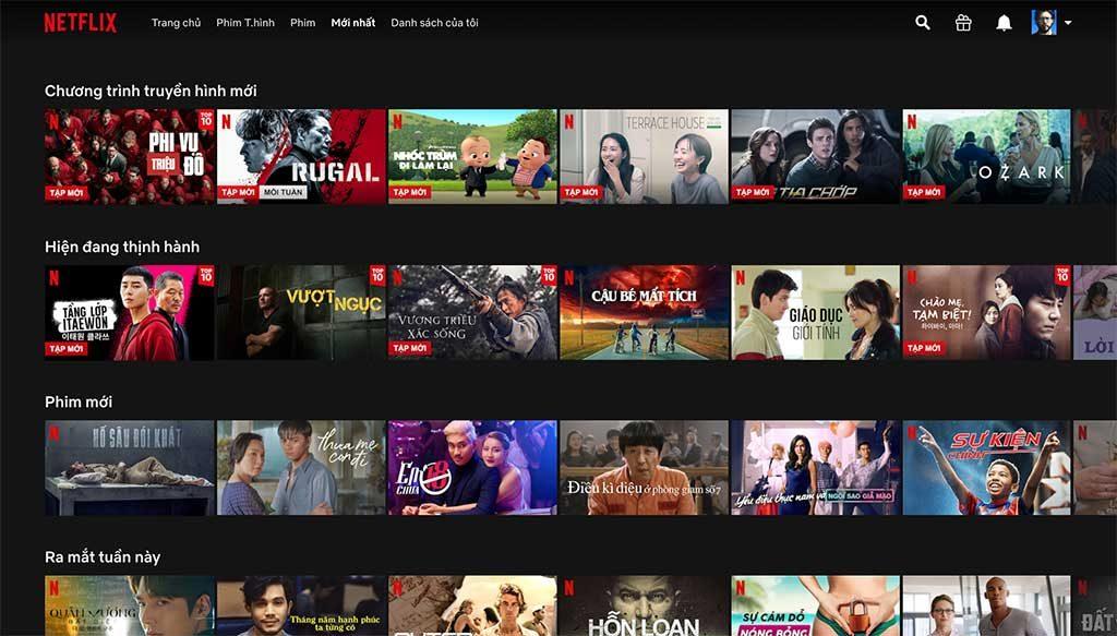 Danh sách các website xem phim HD chất lượng nhất