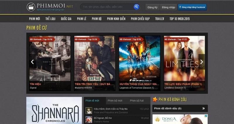 Tổng hợp các website xem phim online tốt nhất hiện nay