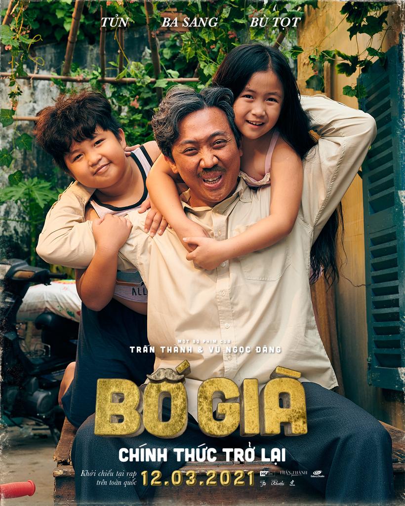 Review về bộ phim bố già của Trấn Thành bản điện ảnh