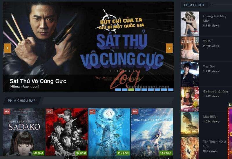 Top 7 website xem phim nhanh miễn phí tốt nhất hiện nay